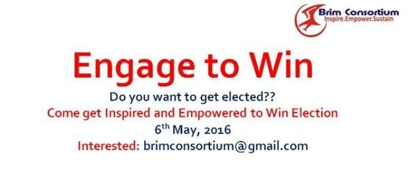 How Engage to Win Elections Training Worskhop