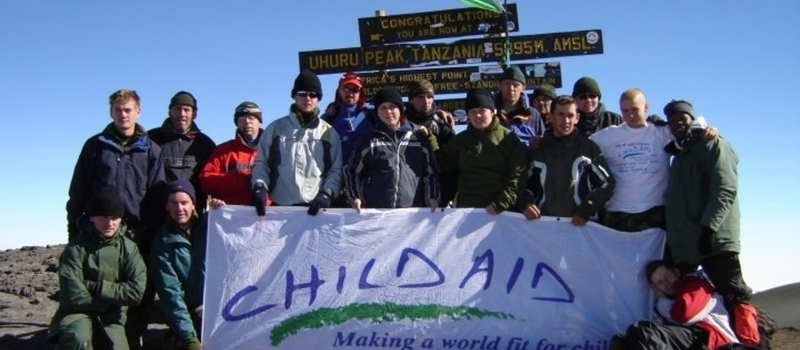 Volunteer for CHILDAID