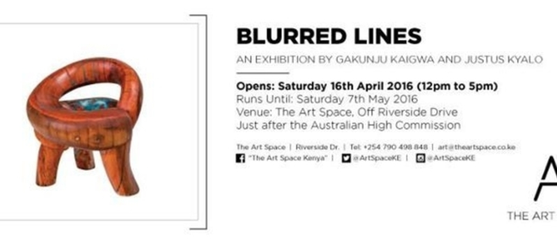 Exhibition: Blurred Lines by Gakunju Kaigwa and Justus Kyalo