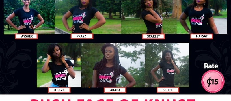 Rush Face of KNUST 16