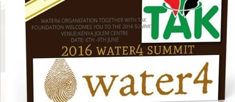 WATER4 2016 SUMMIT