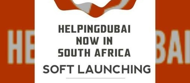 South African Launch of Helping Dubai Community