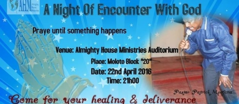 A Night Of Encounter With God
