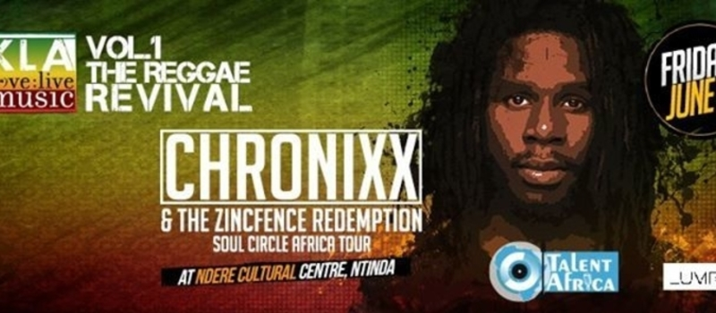 KLA LOVE LIVE MUSIC featuring CHRONIXX from JAMAICA