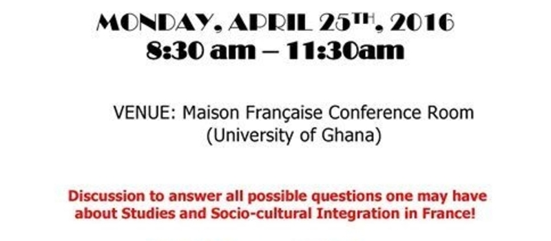 Campus France Seminar on Academic & Social Life in France