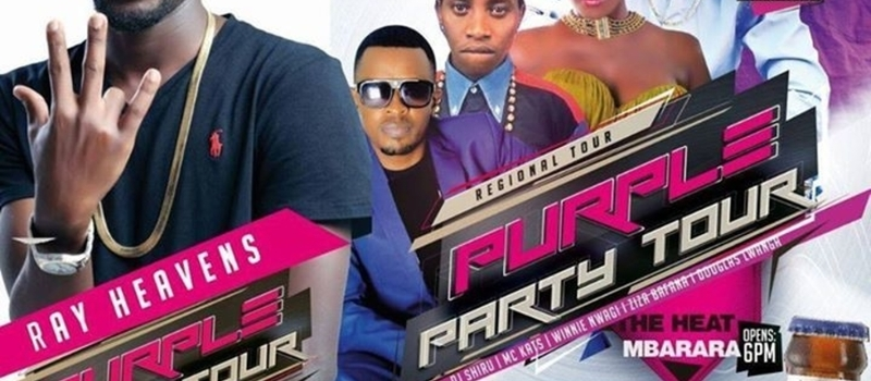 Purple Party Tour, Mbarara at Heats Bar