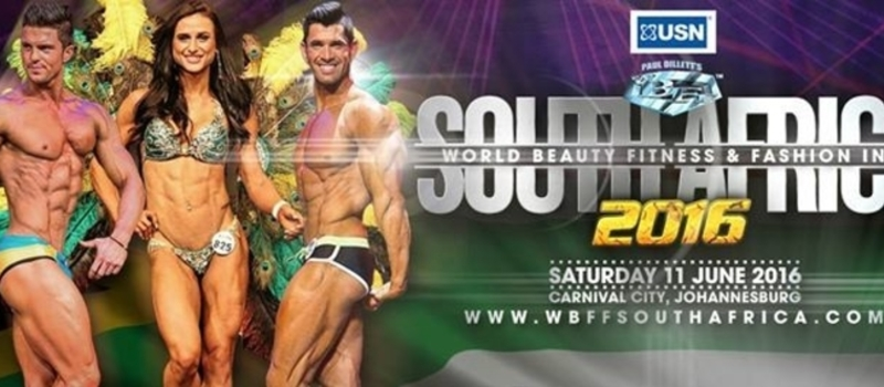 WBFF South Africa 2016