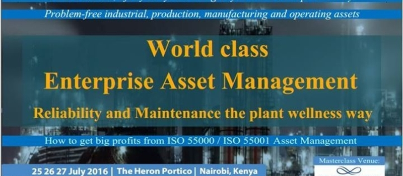 World Class Enterprise Asset Management