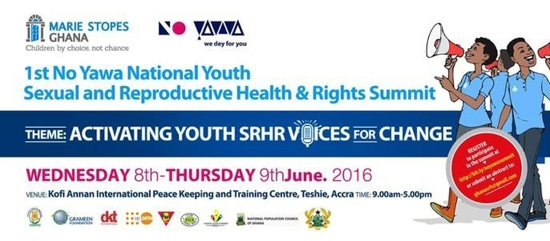 1st NO YAWA NATIONAL YOUTH SEXUAL AND REPRODUCTIVE HEALTH AND RIGHTS SUMMIT