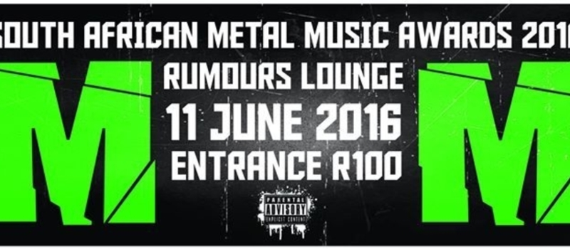 South African Metal Music Awards 2016