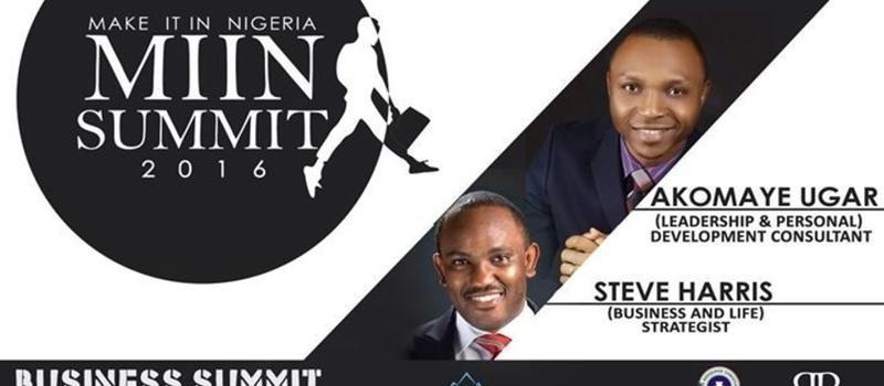 MAKE IT IN NIGERIA SUMMIT