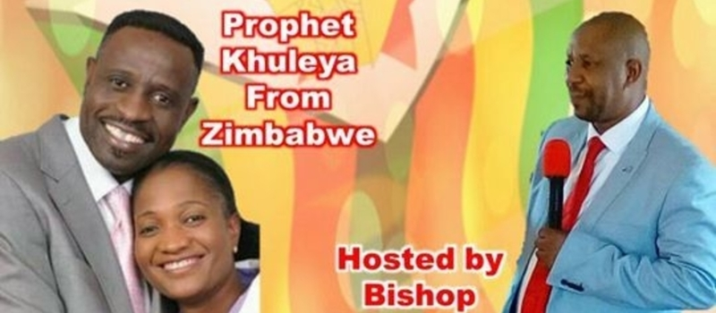 Prophetic night with prophet Khuleya from Zimbabwe