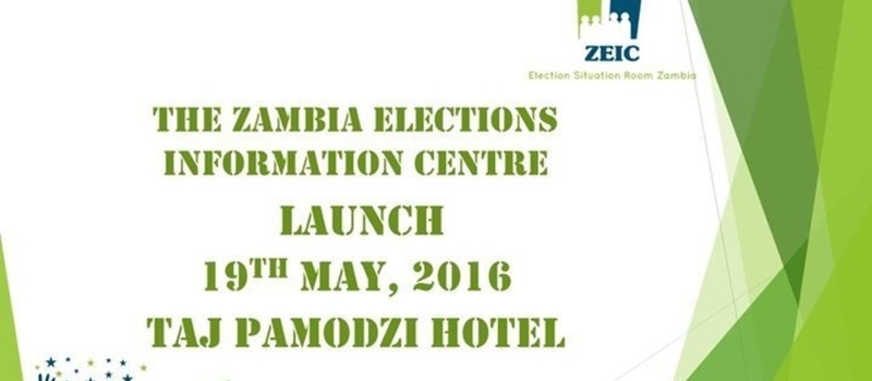 Zambia Elections Information Centre Launch