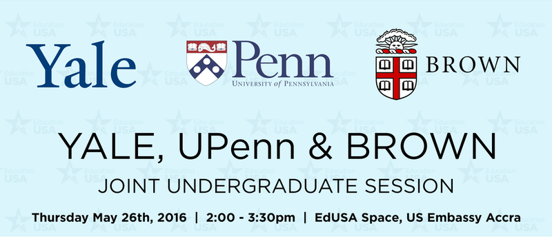 Yale, UPenn and Brown Joint Information Session