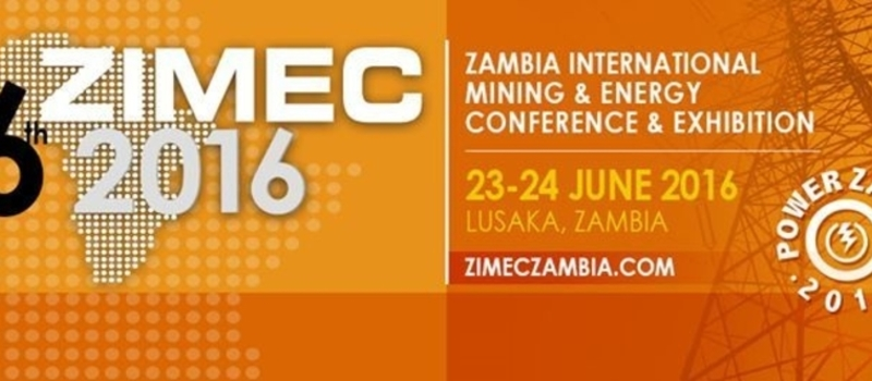 ZIMEC 2016: 6th Zambia International Mining Energy Conference and Exhibition