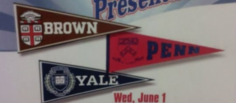 College presentations by Brown ,University of Pennsylvania and Yale